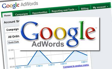 quảng cáo online trên Google AdWords