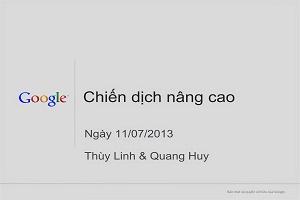 Chiến dịch nâng cao 11/07/2013 – Nguyễn Hiển SearchBox