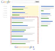 Sự khác biệt giữa kết quả tìm kiếm và quảng cáo của Google